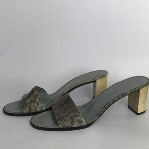 Gucci vintage heeled Sandals